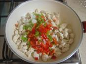 Fırında Patates Püreli Tavuk Yemeği