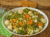 Brokolili Karnabahar Salatası