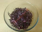 Lokanta Usulü Mor Lahana Salatası