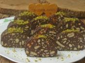 Üç Malzemeli Mozaik Pasta
