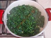 Ispanaklı Buğday Salatası
