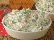 Mayonezli Tavuk Salatası