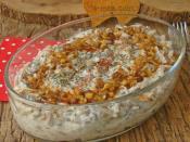 Yoğurtlu Mercimekli Erişte Salatası