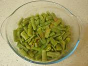 Yoğurtlu Taze Fasulye Salatası
