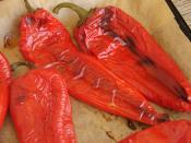 Yoğurtlu Kırmızı Biber Mezesi
