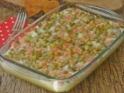 Garnitürlü Patates Salatası