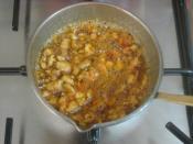 Köz Patlıcanlı Buğday Salatası