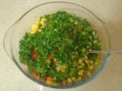 Şalgamlı Kuskus Salatası