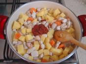 Tavuklu Patates Yemeği