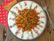 Yoğurtlu Nohut Salatası