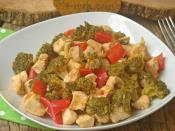 Brokolili Tavuk Yemeği