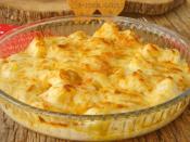 Fırında Beşamel Soslu Patates