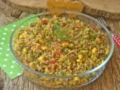 Mercimekli Bulgur Salatası