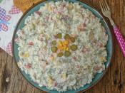 Yoğurtlu Pirinç Salatası