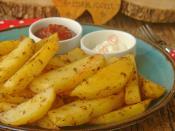 Fırında Elma Dilimli Patates