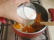 Sütlü Havuç Çorbası