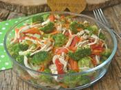 Tavuklu Brokoli Salatası