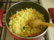Terbiyeli Sebze Çorbası