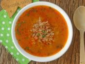 Kıymalı Pirinç Çorbası
