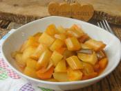 Patatesli Pırasa Yemeği