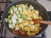 Kıymalı Patatesli Kabak Yemeği
