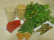 Nohutlu Buğday Salatası