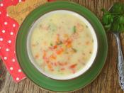 Taneli Sebze Çorbası