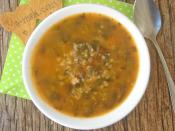 Nohutlu Semizotu Çorbası