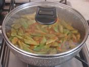 Patatesli Taze Fasulye