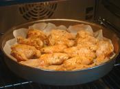 Fırında Ballı Tavuk Kanat