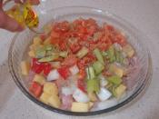 Fırında Sebzeli Tavuk Sote