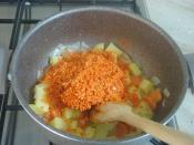 Patatesli Mercimek Çorbası