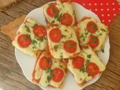 Porsiyonluk Ekmek Pizzası