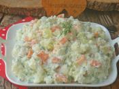 Havuçlu Karnabahar Salatası