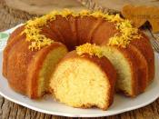 Limonlu Portakallı Kek