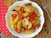 Fırında Patates Yemeği
