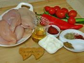 Fırında Tavuk Şiş