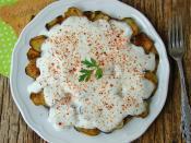 Yoğurtlu Patlıcan Kızartması