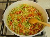 Sebze Spagetti
