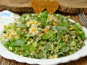 Bulgurlu Semizotu Salatası