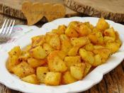 Tavada Haşlanmış Patates Kızartması