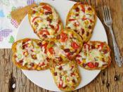 Hamursuz Pizza Dilimleri