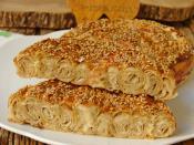 Hazır Yufkadan Tahinli Çörek
