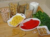Yoğurtlu Bakliyat Salatası