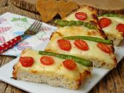 Fırında Yoğurtlu Ekmek Pizzası