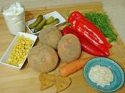 Köz Biberli Patates Salatası