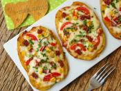 Fırında Patates Pizzası