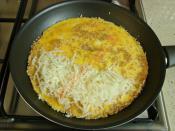 Susamlı Omlet