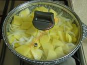 Tavada Kremalı Patates