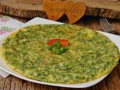 Taze Soğanlı Omlet